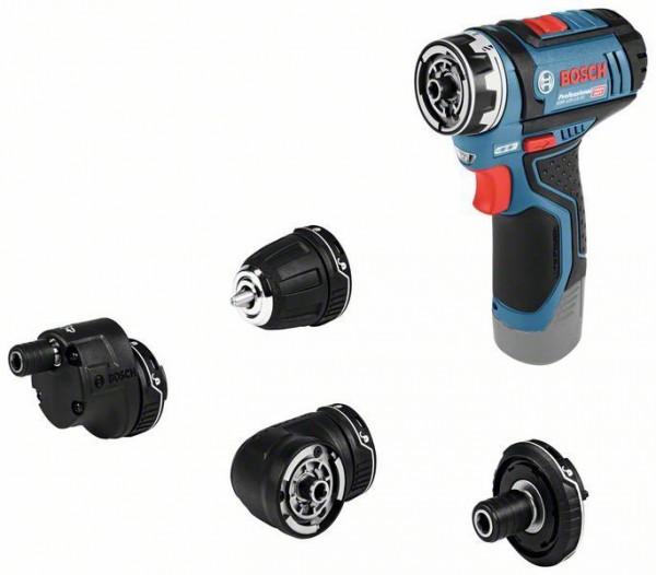 Bosch Perceuse-visseuse sans fil GSR 12V-15 FC, Valise d'artisan avec ensemble d'accessoires