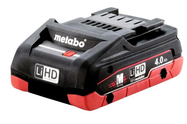 Metabo Akkupack LiHD 18 V, 4,0 Ah - 625367000
