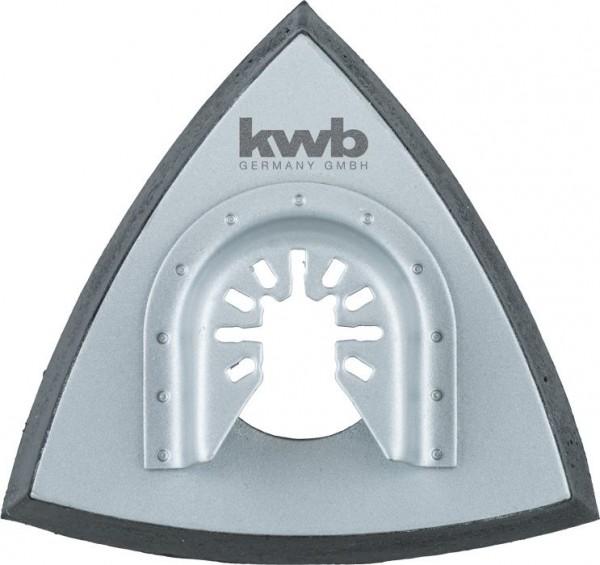 KWB Houderplaat, delta-hechtpad, geperforeerd, 93 mm - 709940
