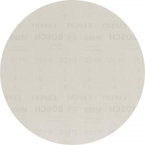 Bosch Professional EXPERT M480 Schleifnetz für Trockenbauschleifer, 225mm, G 120, 25-tlg - 2608900709