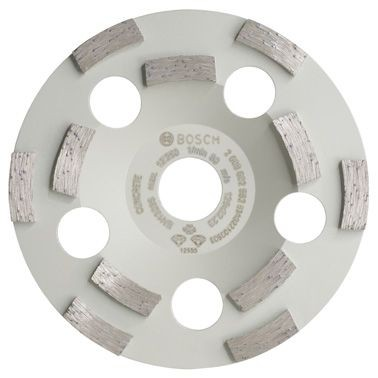 Bosch Meule assiette diamantée Expert for Concrete 125 x 22,23 x 4,5 mm