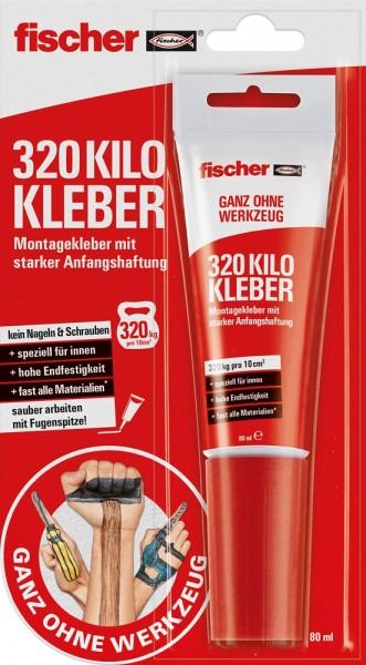 Fischer 320 Kilo Kleber 80ml - 545861