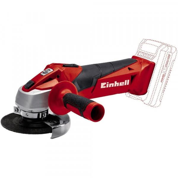 Einhell Smerigliatrice angolare a batteria TC-AG 18/115 Li-Solo, senza batteria e caricabatteria - 4431130