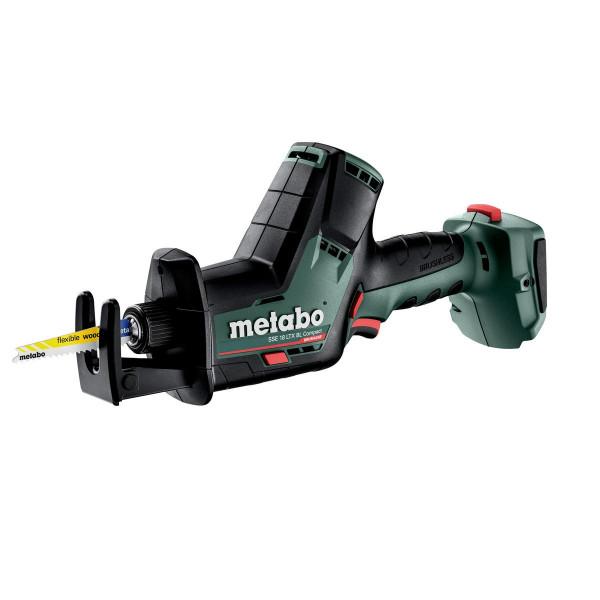 Metabo Akku-Säbelsäge SSE 18 LTX BL Compact, Karton (ohne Akku und Ladegerät) - 602366850