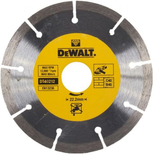 DeWALT Disco diamantato per troncatura Eco1 Universal 300 mm - DT40212-QZ