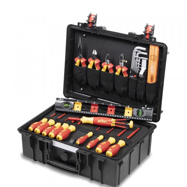 Wiha Caisse à outils Basic Set L electric, 34 pièces - 44505