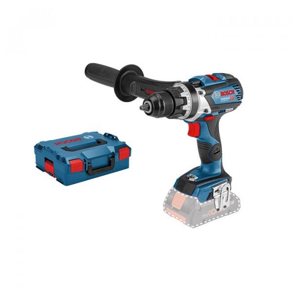 Bosch Professional Perceuse-visseuse sans fil GSR 18V-110 C, Dans L-BOXX (sans batterie ni chargeur) - 06019G0109