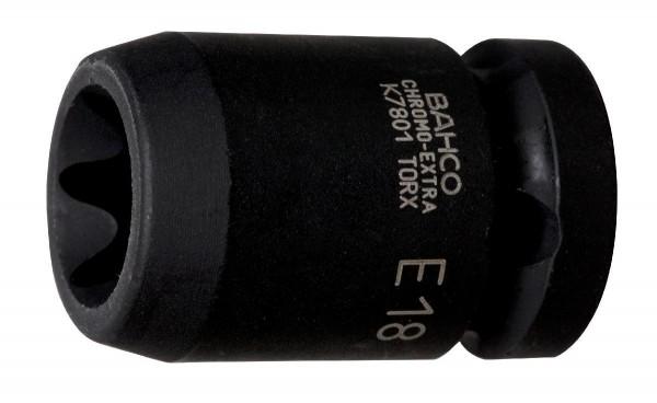 """Bahco EMBOUT DE DOUILLE 1/2 MACHINE, TORX EXTERNE, E18 - K7801TORX-E18"""""""