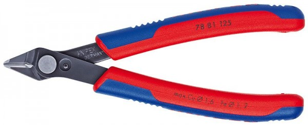 Knipex Electronic Super Knips®, Ø 1,0 mm, 125 mm - 78 81 125