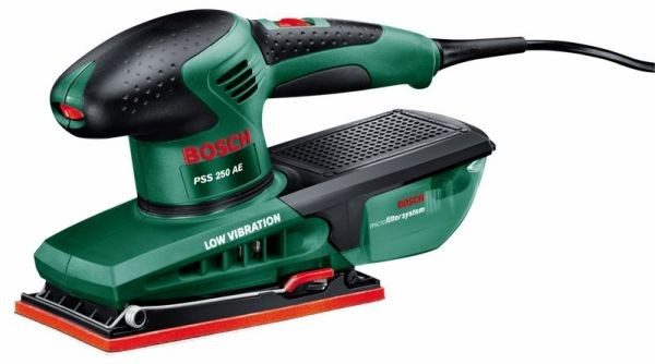 Bosch Ponceuses vibrantes PSS 250 AE