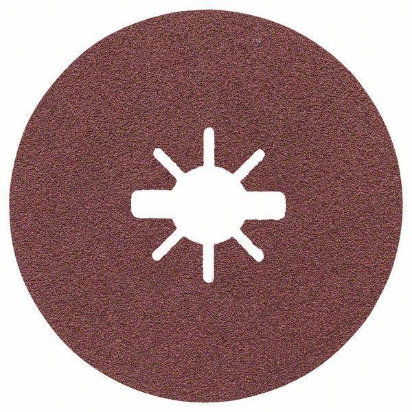 Bosch Prisma Ceramic Fiberscheiben, R781 Metall, 115 x 22,23 mm, X-LOCK, K 80 - 2608621793