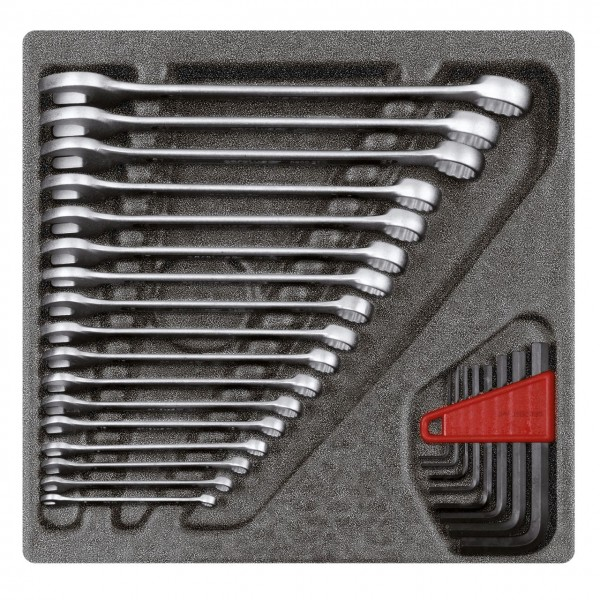 Gedore red Ringsteeksl.-set 4/6 CT-module, 25-dlg - R22250000
