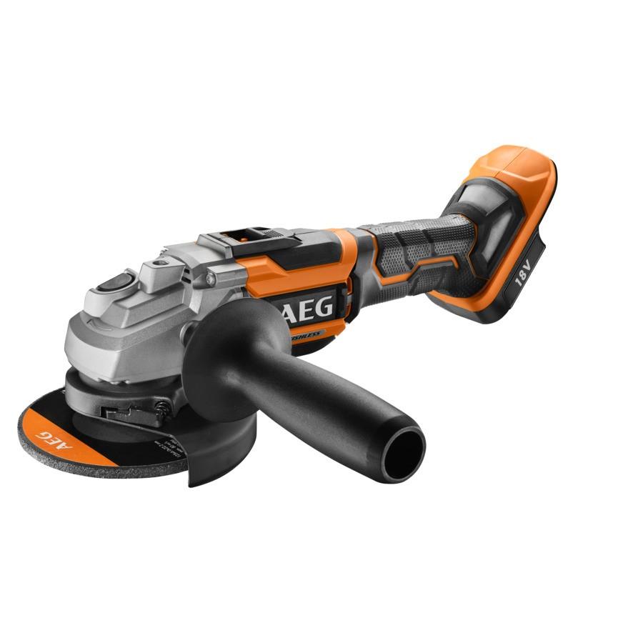 AEG Elektrowerkzeuge Accu-haakse slijpmachine BEWS18-125BL-0 - 4935464414