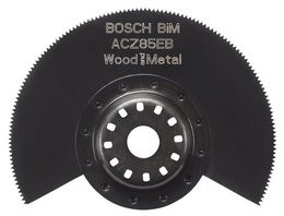 Bosch Starlock BIM Segmentsägeblatt ACZ 85 EB, Wood and Metal, 85 mm, 1er-Pack