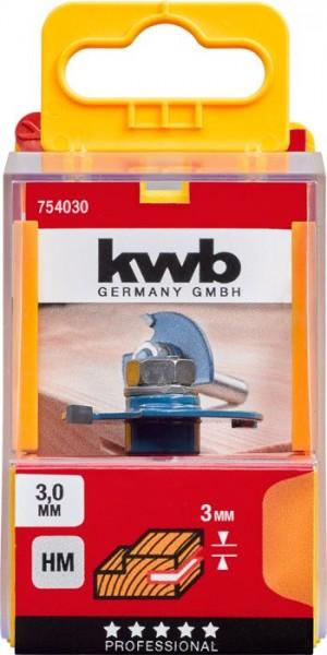 KWB Schijfgleuffrees HM, met klemschacht - 754030
