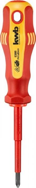 KWB VDE-schroevendraaier, geïsoleerd, PH1, 80 mm - 662301