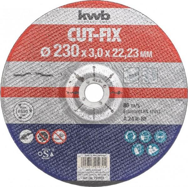 KWB CUT-FIX® doorslijpschijven, metaalbewerking, ø 230 mm - 791970