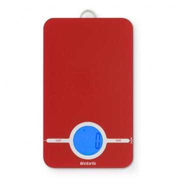 Brabantia Digitale Keukenweegschaal Rechthoekig - Passion red - 480744