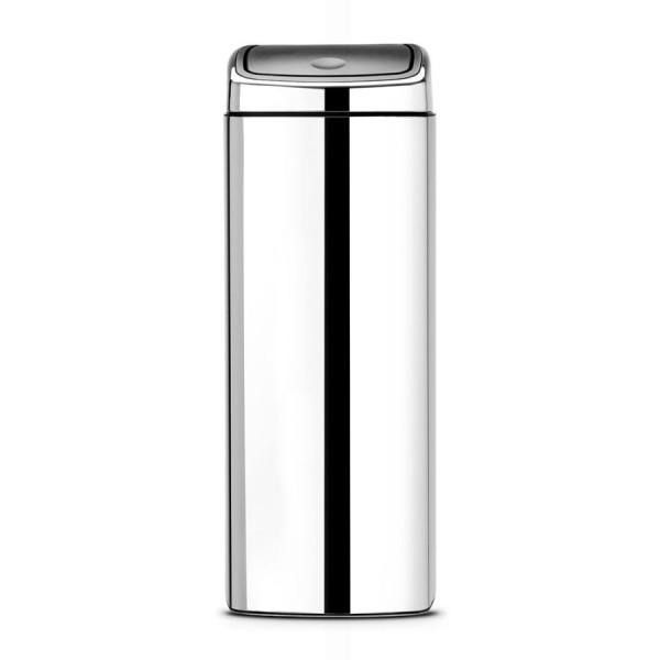 Brabantia Pattumiera con funzione touch (touch bin) 25 L - acciaio brillante