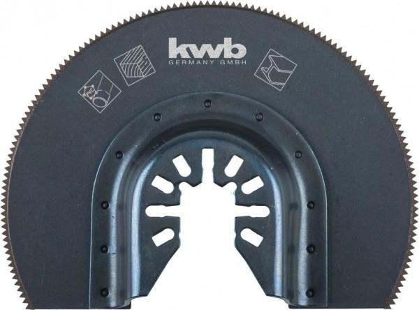 KWB Invalzaagblad, halfrond, HSS - 709440