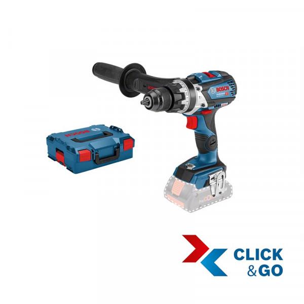 Bosch Professional Akku-Schlagbohrschrauber GSB 18V-75 C, ohne Akku und Ladegerät, L-BOXX - 06019G0302