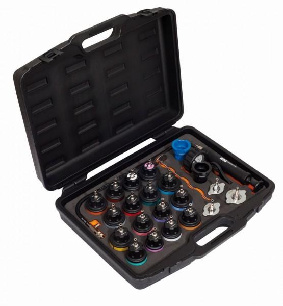 Bahco Assortimento utensili per verifica pressione sistema raffreddamento - BE400P24