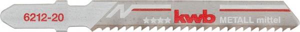 KWB Decoupeerzaagbladen, metaalbewerking, bimetaal - 621220