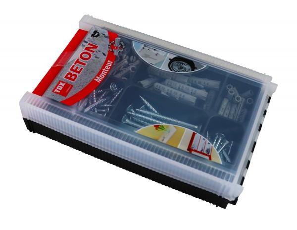 TOX Assortimento standard Monteur Beton 136 pz - 94901041