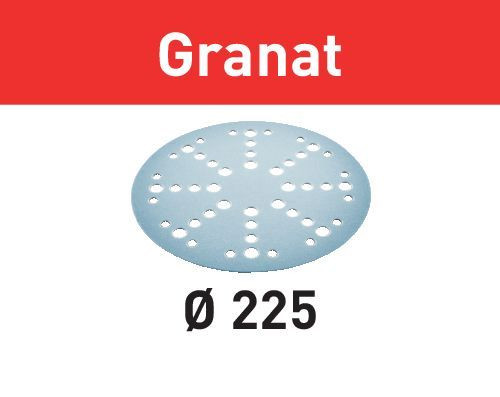 Festool Schleifscheibe STF D225/48 P60 GR/25 Granat, 25 Stück - 205654