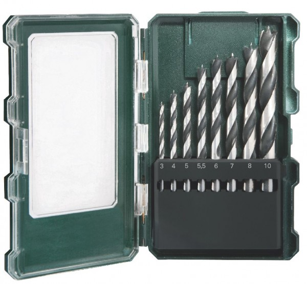 """Metabo Houtboren-cassette """"SP"""" 8-delig - 62670500"""