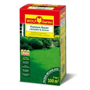 Wolf Garten Premium Rasen Schatten & Sonne LP 100 - 3820040