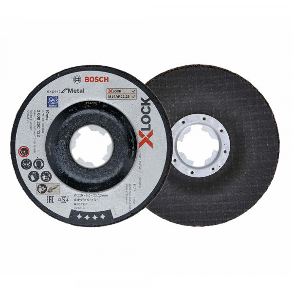 Bosch Disque abrasif Expert for Metal 115x6x22,23 - 260925C122