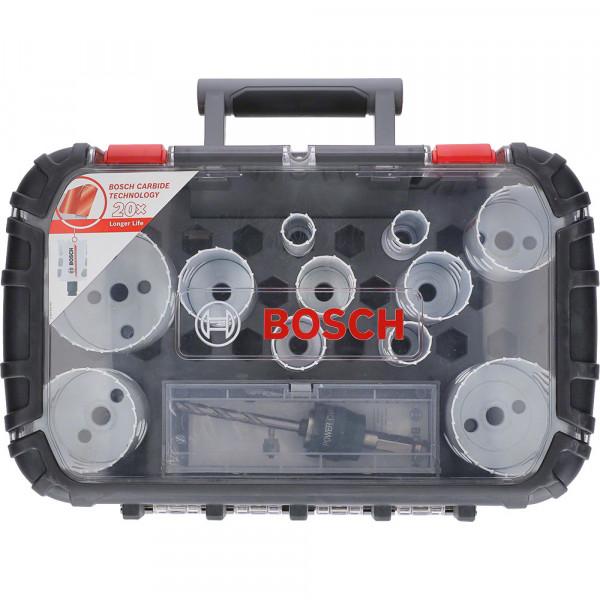 Bosch Set universale seghe a tazza Endurance for Heavy Duty Carbide, 20-76 mm - 2608594186