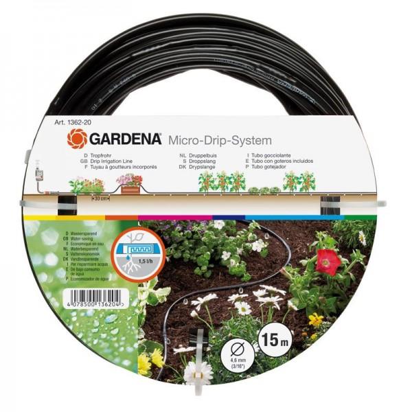"""Gardena Tubo gocciolante da 4,6 mm (3/16"""") - 01362-20"""