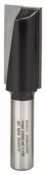 Bosch Nutfräser, 12 mm, D1 20 mm, L 40 mm, G 81 mm