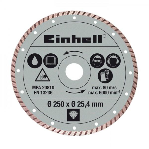 Einhell Disque diamanté 250x25,4mm pour coupe-carrelages