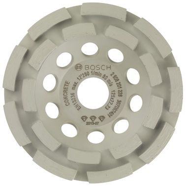 Bosch Meule assiette diamantée Best for Concrete 125 x 22,23 x 4,5 mm