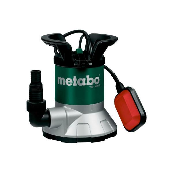 Metabo Bomba sumergible para agua limpia de aspiración plana TPF 7000 S, Cartón - 0250800002
