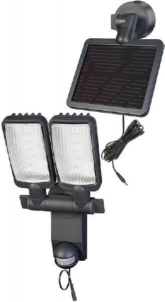 Brennenstuhl Lampe LED Solaire DUO Premium SOL LV0805 P2 IP44 avec détecteur de mouvements infrarouge 8xLED 0,5W 320lm
