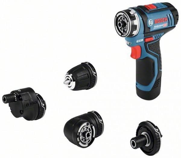 Bosch Perceuse-visseuse sans fil GSR 12V-15 FC Professional, 2 x 2,0 Ah, L-BOXX - 06019F6000