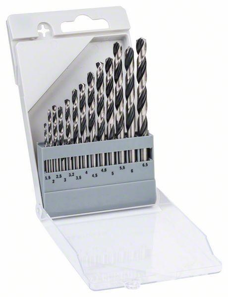 Bosch HSS Metallspiralbohrer PointTeQ - 13-teiliges Set