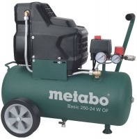 Metabo Compressore Basic 250-24 W OF, Scatola di cartone - 601532000
