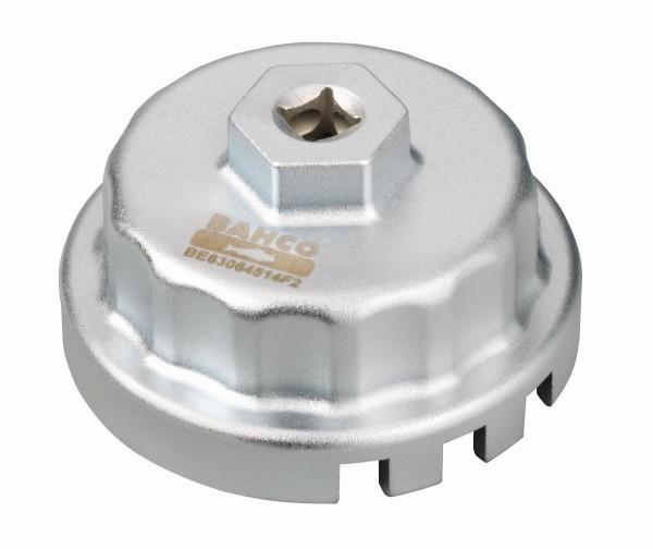 Bahco Chiave per filtro olio Toyota, Lexus, Subaru, Daihatsu 4, 6 o 8 cilindri (da 2,5 a 5,7 l) - BE63064514F2
