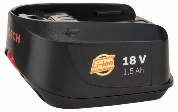 Bosch Batteria ad innesto da 18 V DIY, 1,5 Ah, Li Ion