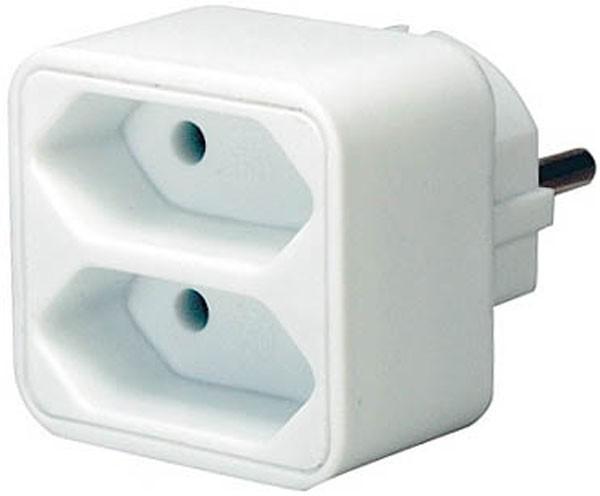 Brennenstuhl Adaptador, tomas de corriente Euro - 1508030