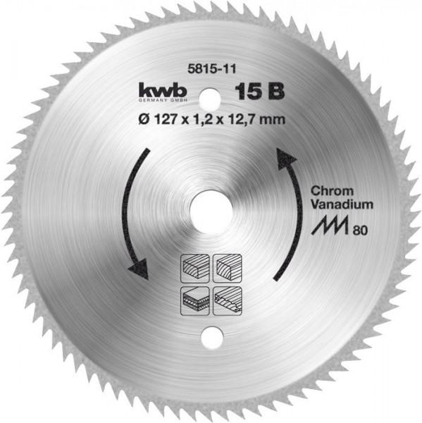 KWB Cirkelzaagblad voor cirkelzagen ø 127 mm - 581511