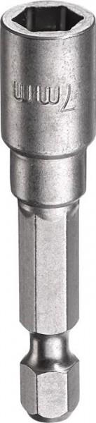 """KWB Zeskant-dopsleutel, 1/4"""" met E 6.3-schacht, 7 mm - 102707"""