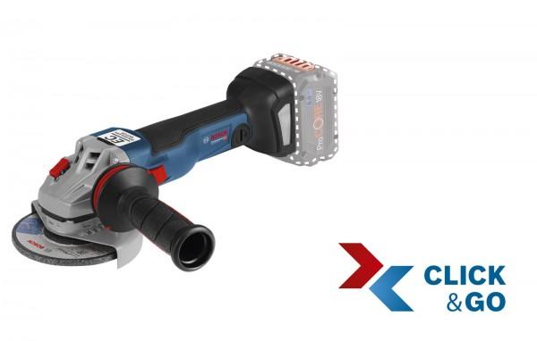 Bosch Smerigliatrice angolare a batteria GWS 18V-10 C, senza batterie e caricabatteria, L-BOXX - 06019G310B