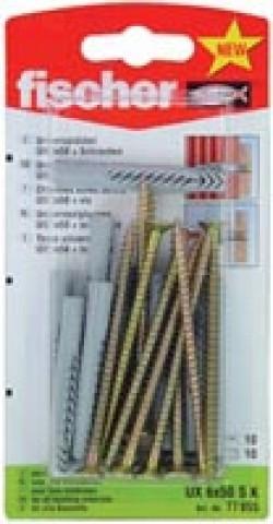 Fischer Universaldübel UX 10 x 60 RSK SB-Karte - 1 Stück