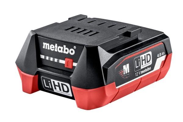 Metabo Akkupack LiHD 12 V - 4,0 Ah - 625349000